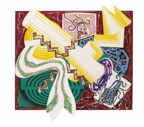 Frank Stella-Had Gadya (Then Came A Stick And Beat The Dog)-1985