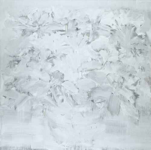 Yan Pei-Ming-Fleurs Des Funerailles Du Pere-2003