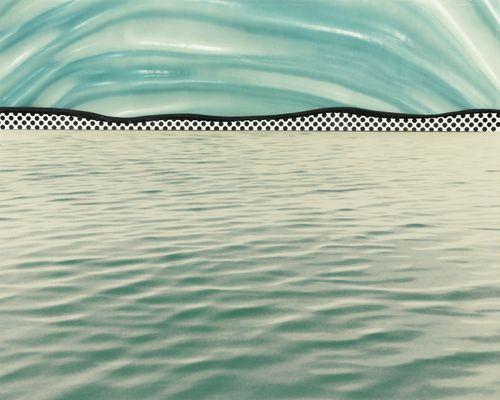 Roy Lichtenstein-Landscape 6-1967
