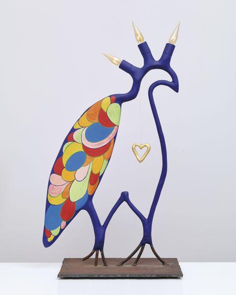 Niki de Saint Phalle-Faucon Bleu-1980