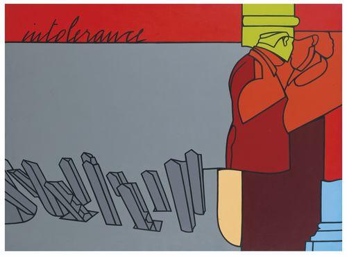 Valerio Adami-Intolerance-1974