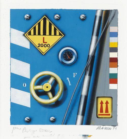 Peter Klasen-Sans Titre-1999