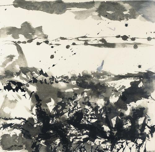 Zao Wou-Ki-Sans Titre-1986