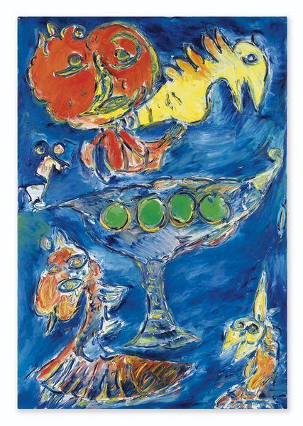 Carl-Henning Pedersen-Green Fruits-1999