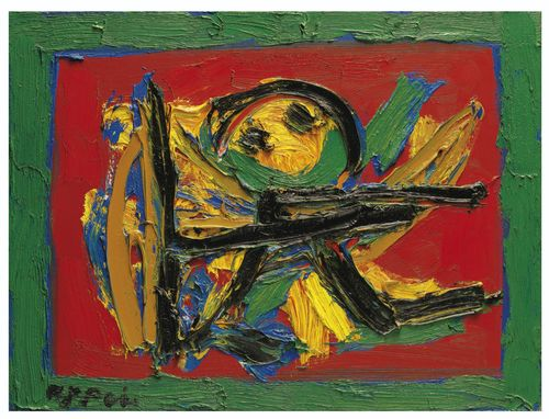 Karel Appel-L'Archer No. 1-1989