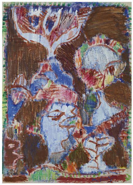 Pierre Alechinsky-Jour Gras Tel Que Mardi-1999