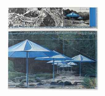 Christo and Jeanne-Claude-The Umbrellas (joint project for Japan and USA)-1990