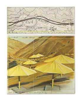 Christo and Jeanne-Claude-The Umbrellas (project for Japan and Western-USA)-1987