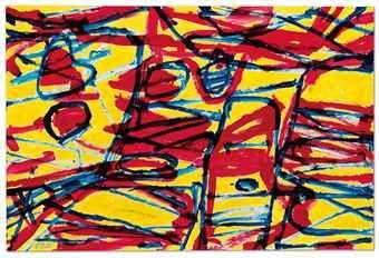 Jean Dubuffet-Mire G 82 (Kowloon)-1983