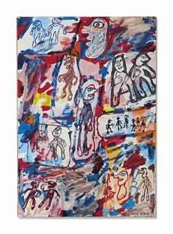 Jean Dubuffet-Benefice du doute-1980