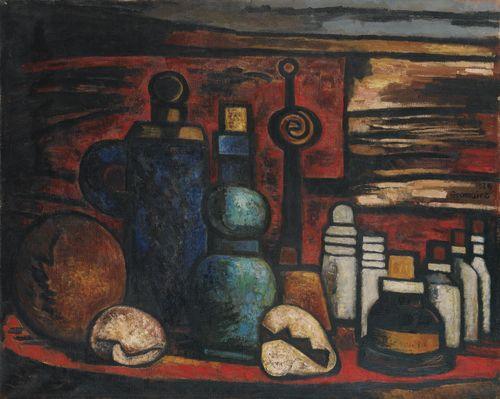 Marcel Gromaire-Nature Morte A La Sonnette-1926