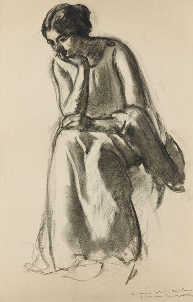 Henri Baptiste Lebasque-Portrait De Madame Simon-