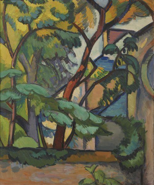 Andre Lhote-Paysage Fauve-1907