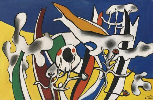 Fernand Leger-Peinture Imaginaire-1952