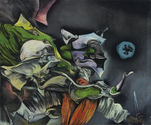 Kurt Seligmann-Devil And Fool-1948
