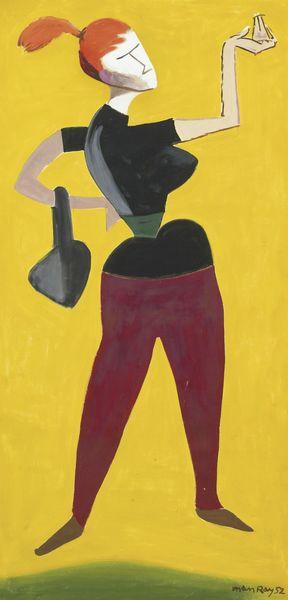 Man Ray-Mademoiselle H...-1952