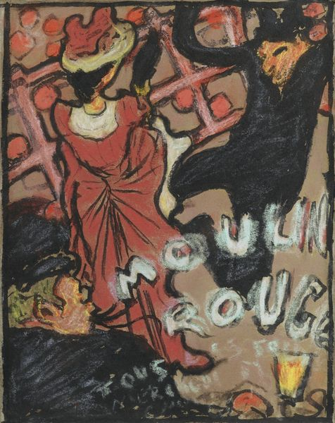 Pierre Bonnard-Moulin Rouge-