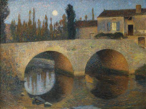 Henri Martin-Le Pont A Labastide-Du-Vert-