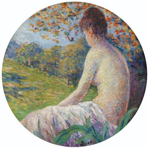 Maximilien Luce-Femme Assise-