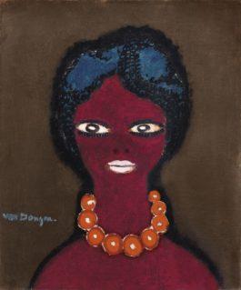 Kees van Dongen-Portrait De Femme (L'Egyptienne)-1909