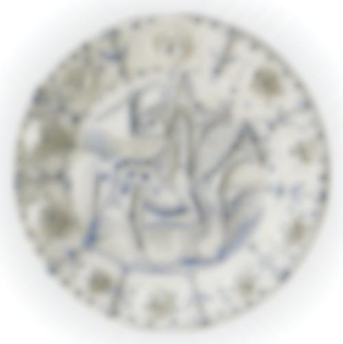 Pablo Picasso-Faune Cavalier (A. R. 337)-1956