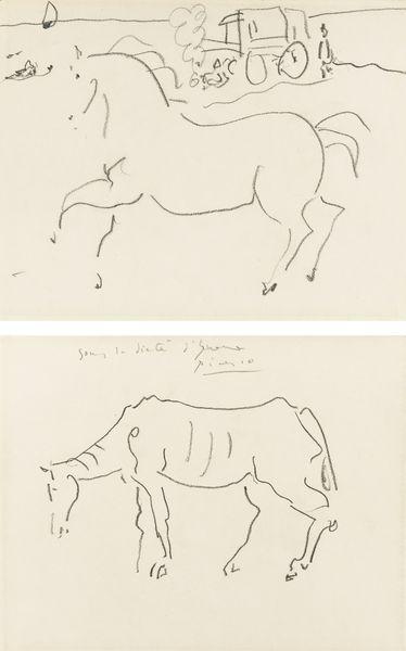 Pablo Picasso-Sous La Dictee D'Yvonne [Zervos]-