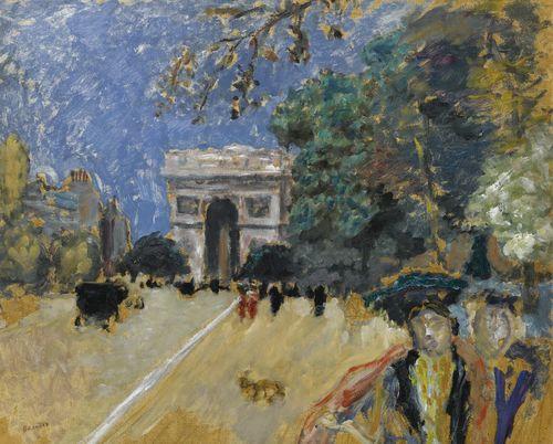 Pierre Bonnard-L'Arc De Triomphe (Esquisse)-1899