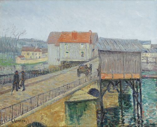 Gustave Loiseau-Le Pont A Moret-Sur-Loing-