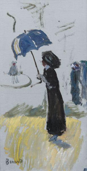 Pierre Bonnard-Femme Au Parapluie-1900