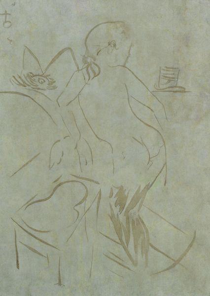 Henri de Toulouse-Lautrec-Intimite-1889