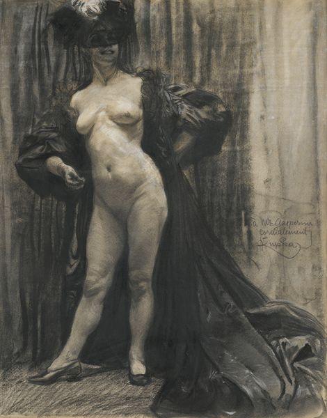 Frantisek Kupka-Femme Denudee Dans Un Interieur-