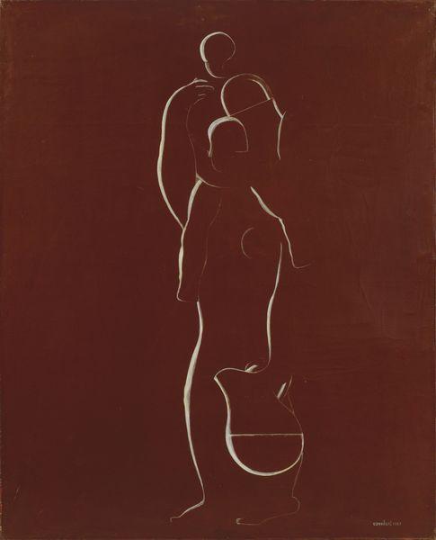 Amedee Ozenfant-Femme Et Enfant-1927