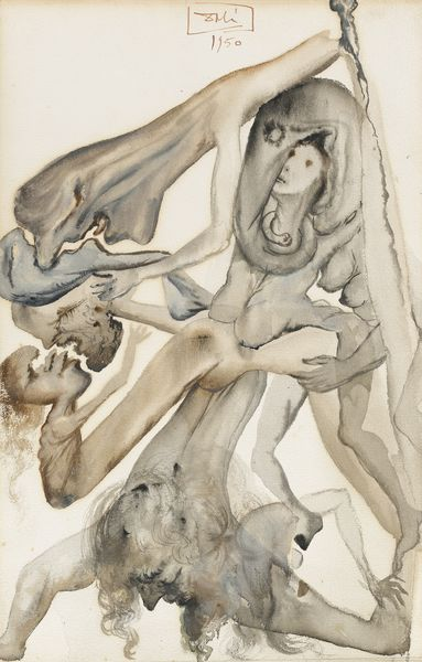 Salvador Dali-Les Limbes, Illustration Pour L'Enfer, Chant 4 Pour L'Ouvrage De Dante Aliguieri Illustre Par Salvador Dali, /La Divine Comedie/, Joseph Foret, Les Heures Claires (1959-1963)-1950