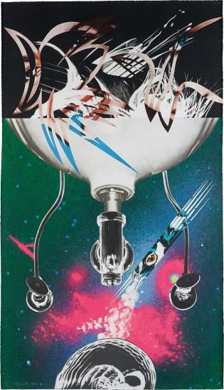 James Rosenquist-Where The Water Goes, From Welcome To The Water Planet-1989
