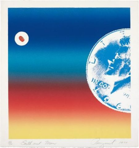 James Rosenquist-Earth And Moon-1971