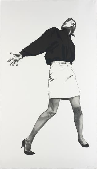 Robert Longo-Sandy, From Men In The Cities-1999