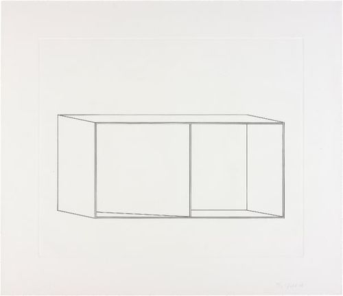 Donald Judd-Untitled: One Plate-1978
