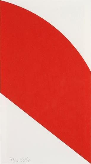 Ellsworth Kelly-Red Curve-2006