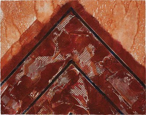 Kenneth Noland-Untitled-1985