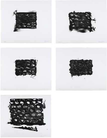 Jannis Kounellis-Modele 1-5-1999