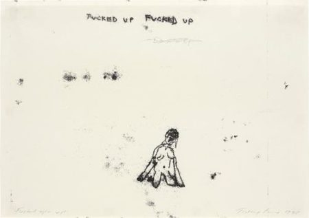Tracey Emin-Fucked Up-1998