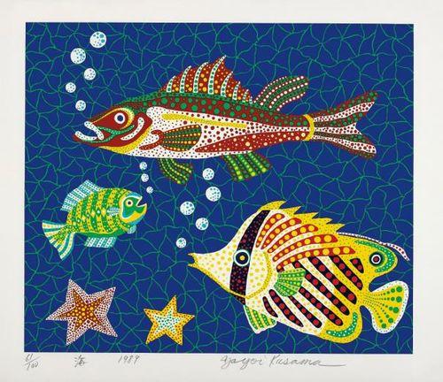 Yayoi Kusama-Sea-1989