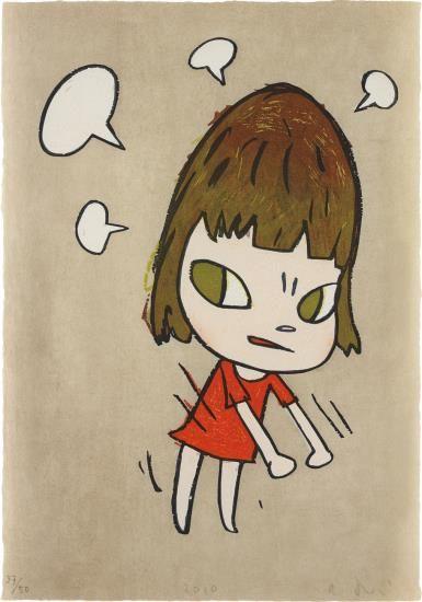 Yoshitomo Nara-Pissed Off!-2010