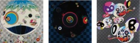 Takashi Murakami-Jelly Fish; This World And The World Beyond; And Backbeard-2013