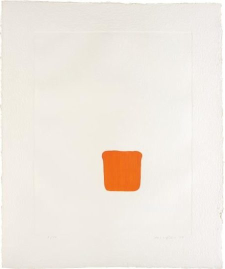Lee Ufan-Untitled, From Dialogue-2007