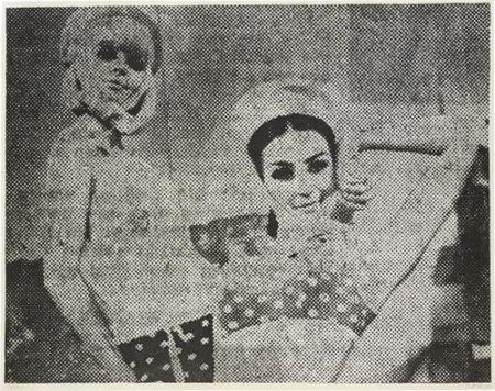Sigmar Polke-Freundinnen I (Girlfriends I)-1967