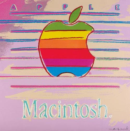 Andy Warhol-Apple, From Ads-1985