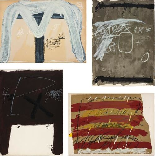 Antoni Tapies-Berlin Suite-1974