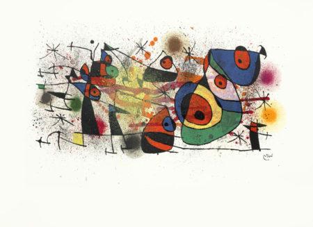 Joan Miro-Ceramiques & Sculptures unframed-1974