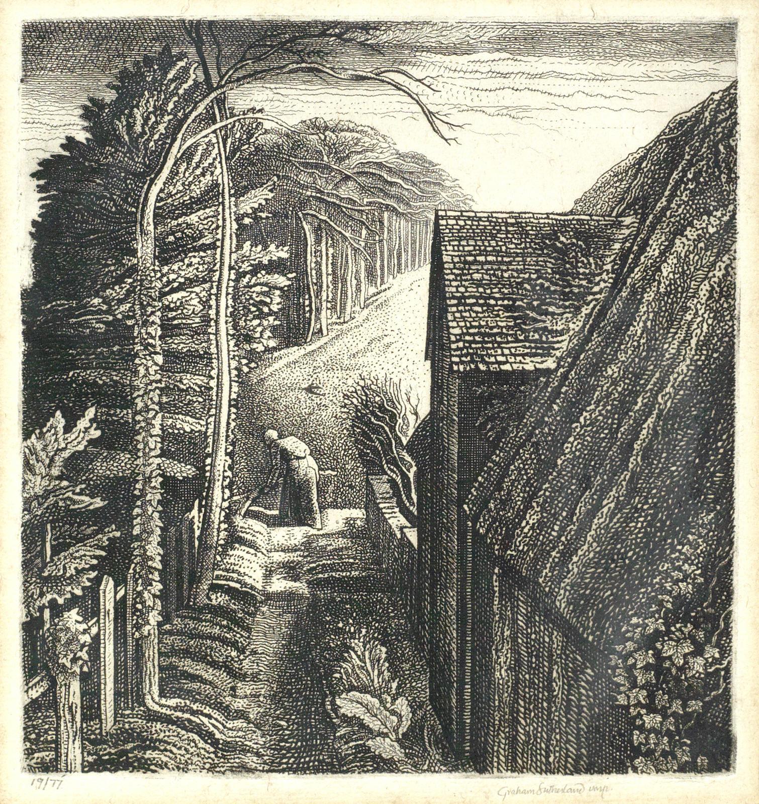 Graham Sutherland-Hanger Hill-1929